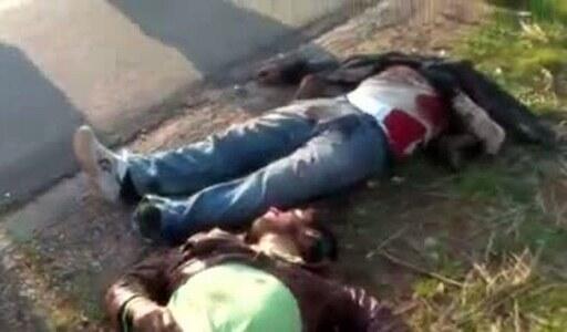 Hotunan wadanda suka mutu sanadiyar zanga-zangar adawa da gwamnatin Bashar al Assad a Syria