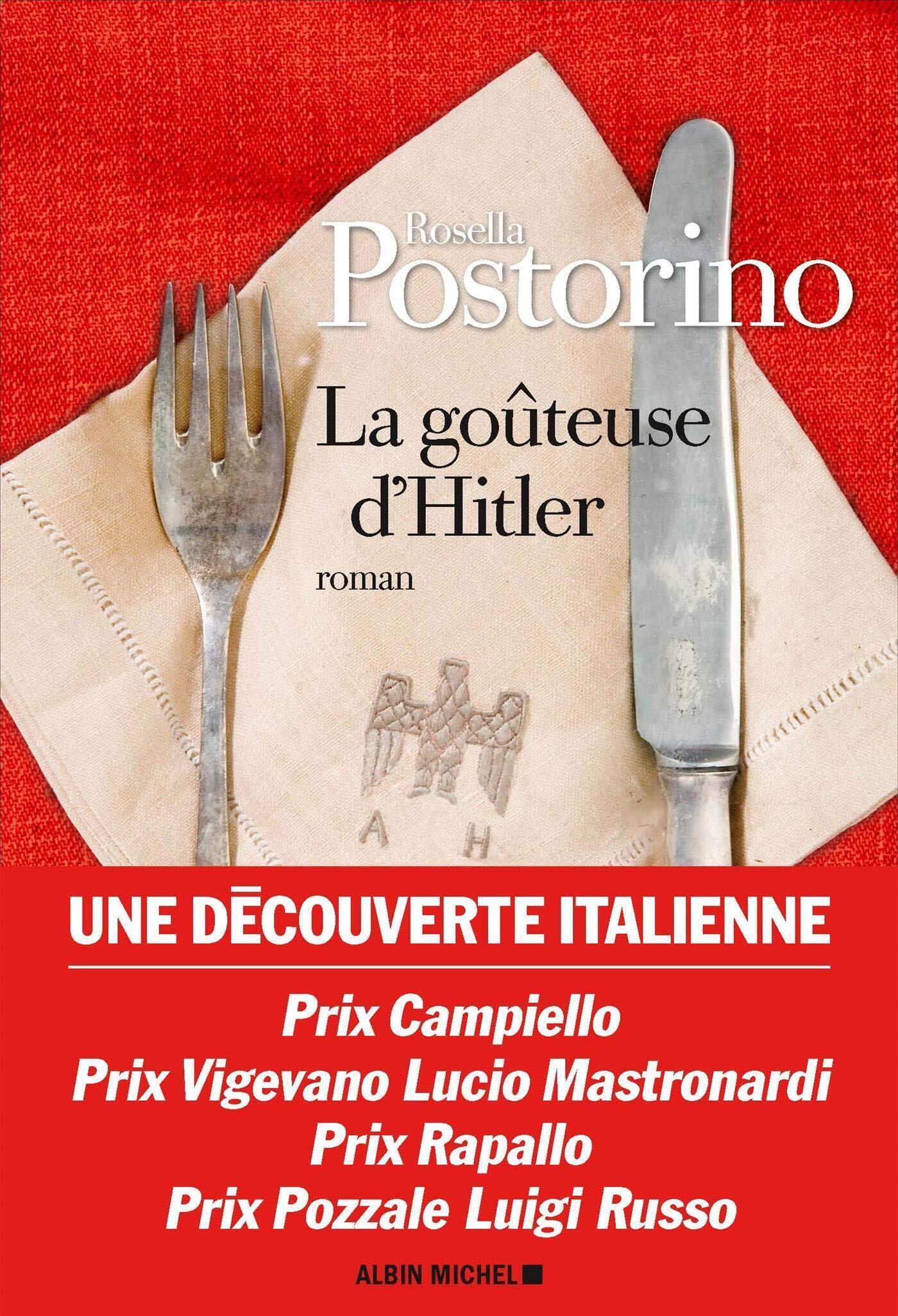 Couverture française du roman de Rosella Postorino