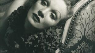 Marlene Dietrich por Edward Steichen, 1934.