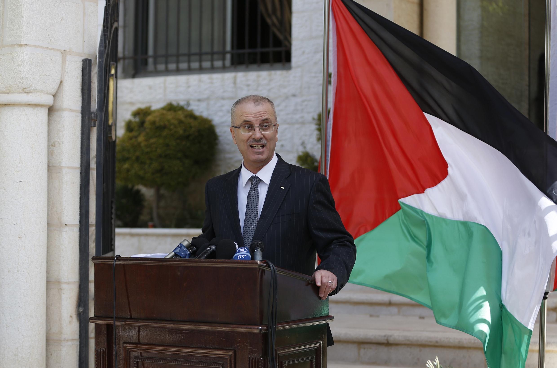 Ông Rami Hamdallah, Thủ tướng Palestine, ngày 03/06/2014, tại Ramallah