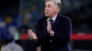 Tsohon mai horas da kungiyar Napoli Carlo Ancelotti.