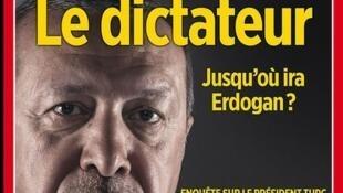 """Capa da revista Le Point, """"O Ditador"""""""