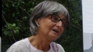 Françoise Larribe, ex-otage, enlevée il y a 2 ans par al-Qaïda à Arlit, dans le nord du Niger.