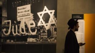 以色列猶太人大屠殺紀念館資料圖片