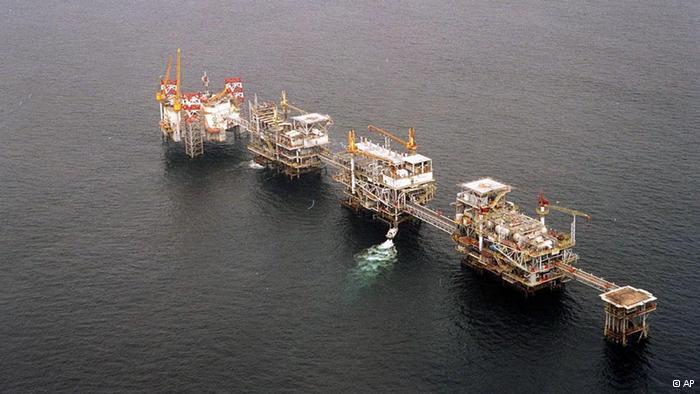 Plataforma petrolífera em Cabinda
