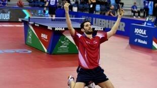 Emmanuel Lebesson a décroché le titre de champion d'Europe, le 23 octobre 2016 à Budapest.