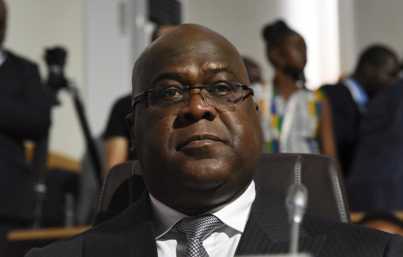 Rais wa DRC, Félix Tshisékédi.