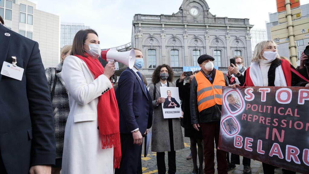 En Lituanie, la diaspora biélorusse se penche sur l'avenir de son pays