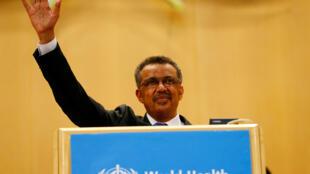 世界衛生組織總幹事譚德塞2017年5月照片