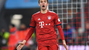 Thomas Mueller, dan wasan Bayern Munich.