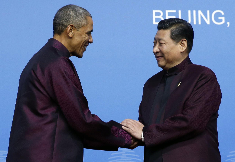 باراک اوباما، رئیس جمهوری آمریکا امروز برای انجام یک سفر سه روزه وارد پکن، پایتخت چین، شد.