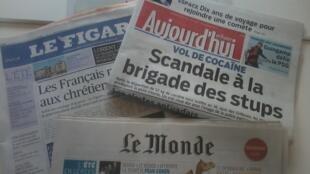 Jornais franceses deste sábado, 2 de agosto de 2014.