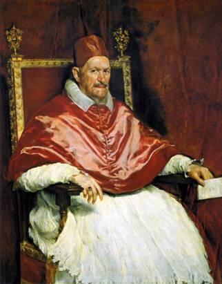 Retrato de Inocencio X  (1650. Galería Doria Pamphili de Roma)
