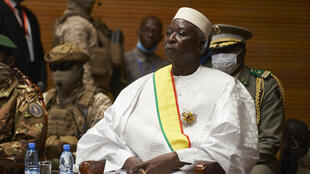 Interim president Bah Ndaw was sworn in in televised ceremonies at a conference centre in Bamako