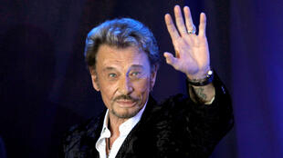 Johnny Hallyday in 2011