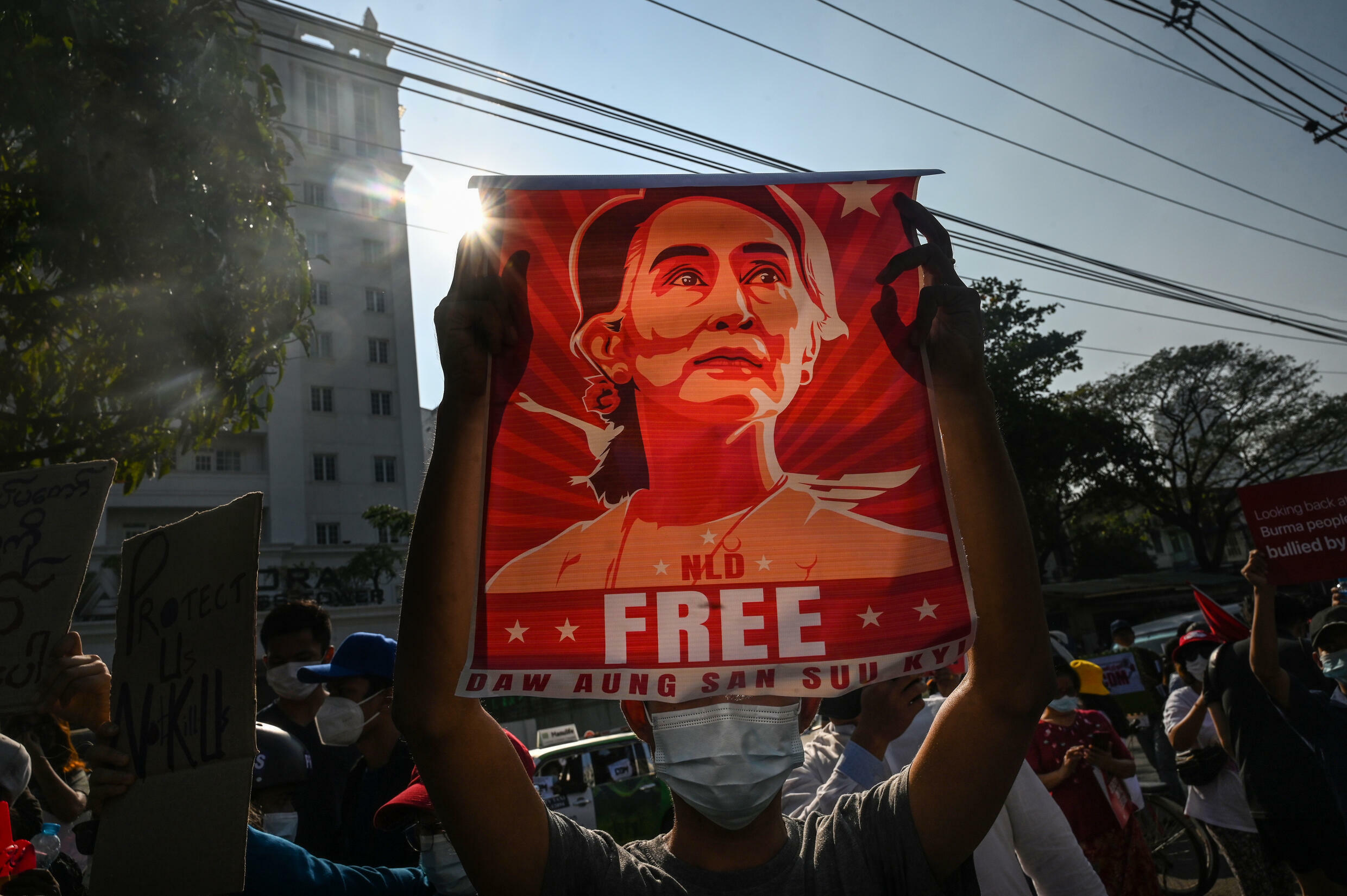 Myanmar has been in turmoil since Aung San Suu Kyi and her elected government were ousted in a military coup