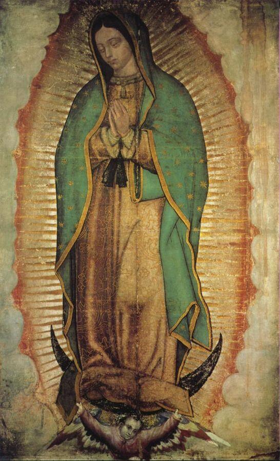 Imagen de la Virgen de Guadalupe.
