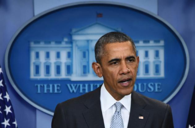 پیام باراک اوباما به دولت و مردم فرانسه. ١٣ نوامبر ٢٠١۵