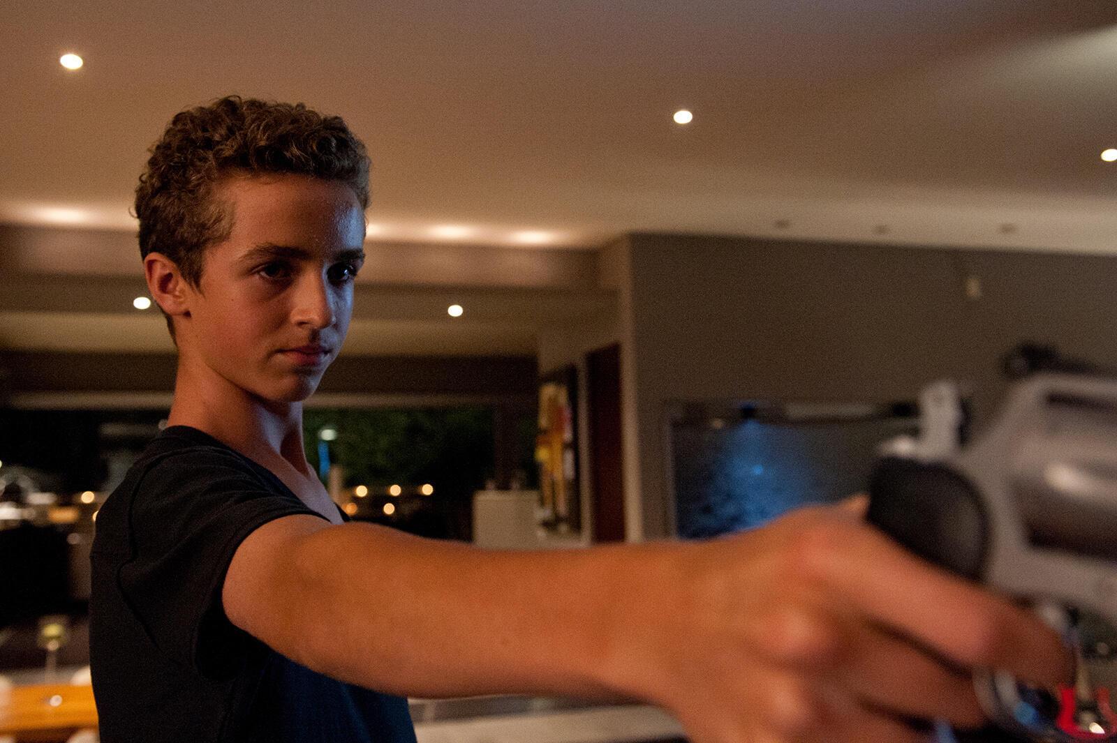 Evan Bird incarne la star Benjie Weiss dans «Maps To The Stars» de David Cronenberg.
