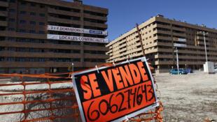 El complejo residencial de Seseña (Toledo) con una gran parte de sus viviendas vacías, es un  ejemplo de la crisis inmobiliaria que vive España.