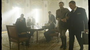 Lambert Wilson playing French war hero Charles de Gaulle in his latest film.