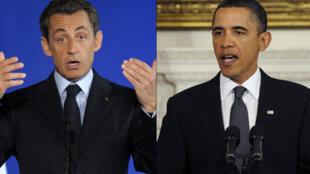 TT Sarkozy và Obama