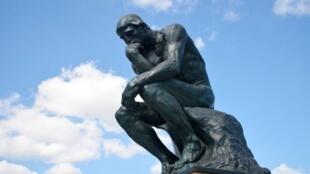 羅丹雕塑思想者