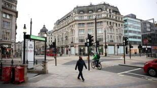 Londres confinée