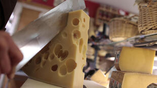 Last year, Switzerland exported more than 77,100 tonnes of cheese