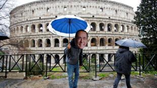 Roma, thủ đô Ý, ngày 05/03/2018, một ngày sau bầu cử Quốc Hội