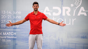 World number one Novak Djokovic organised the Adria Tour in the Balkans but the four nation event was cancelled when he became the fourth player to test positive for the coronavirus.