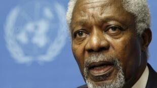 Kofi Annan, ancien secrétaire général des Nations-unies.