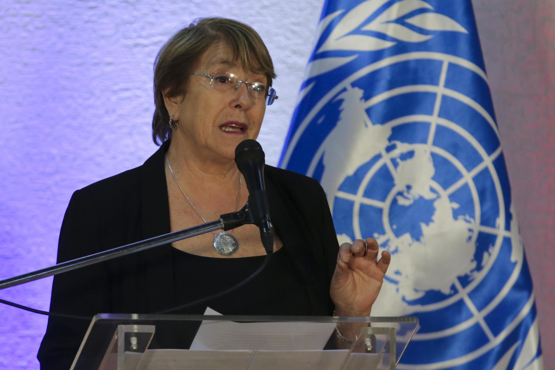 Shugabar hukumar kare hakkin dan adam ta Duniya Michelle Bachelet.