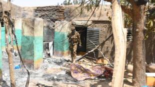 Wani kauye da mahara suka kashe mutane a Burkina Faso