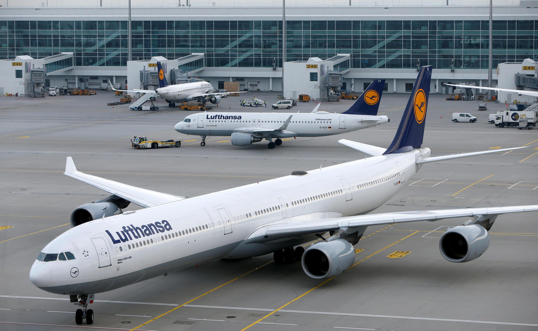 Les aéroports allemands, comme ici à Munich, pourraient connaître des perturbations mardi 10 avril.