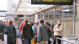 Arrivée de l'aéroport international de Dublin.
