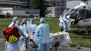 Patient evacuated from hospital in Mulhouse, in the east of France