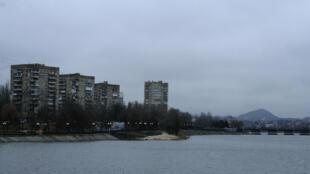 Vue de Donetsk en Ukraine.