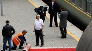 قطار اختصاصی کیم جونگ اون وارد ایستگاه شهر ولادی وستوک شد