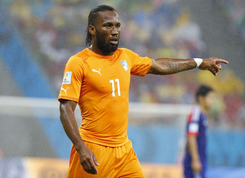 mshambuliaji wa Ivory Coast, Didier Drogba.