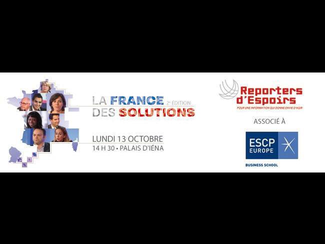 Affiche du forum «La France des solutions».