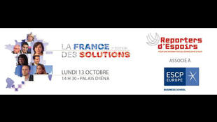 Affiche du forum «La France des solutions».