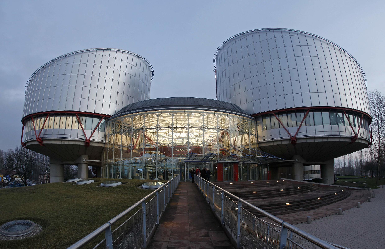 Image d'archive RFI : Cour européenne des droits de l'homme à Strasbourg