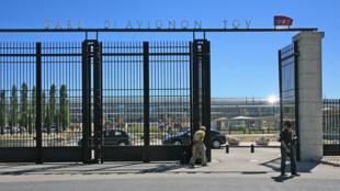 L'entrée de la gare d'Avignon TGV