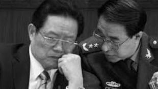 前中共军委副主席徐才厚与周永康