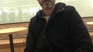 Cineasta António Faria em Macau a 14 de Dezembro de 2018.
