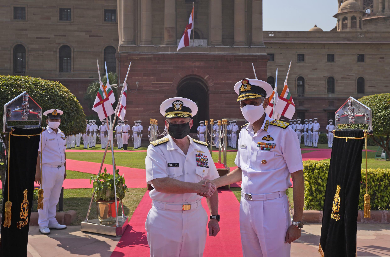 Inde - Usa - Navy Chief - AP21285259524152