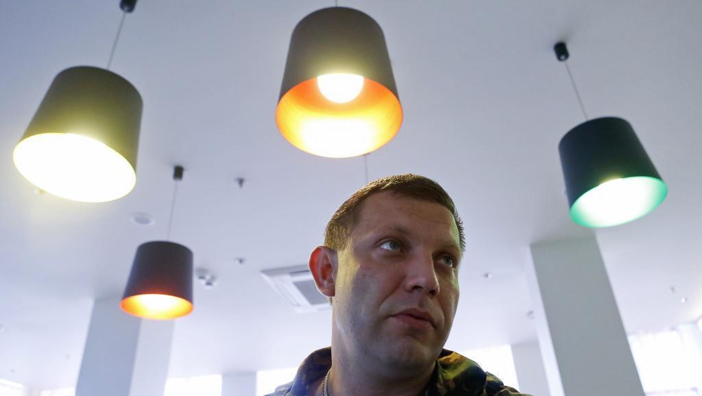 Alexandre Zakhartchenko alionekana kuwa atashinda uchaguzi huo katika eneo Donetska liliyojitenga na Ukraine.