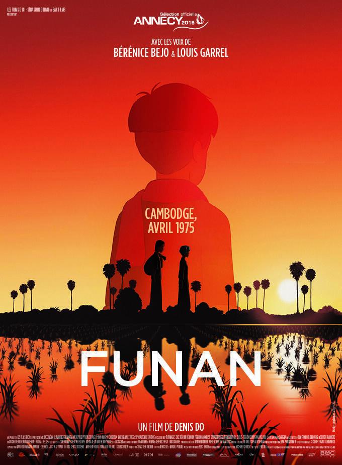Affiche du film d'animation «Funan» de Denis Do, primé au Festival d'Annecy.