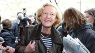 Nicole Fontaine, ancienne présidente du Parlement européen.